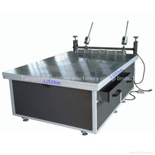 Máquina de impresión de pantalla de seda grande manual de vidrio