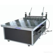 Máquina de impressão de tela de seda manual grande de vidro