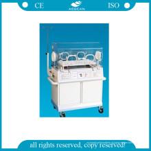 AG-Iir001b Incubadoras Médicas Aquecedoras Radiantes Infantis