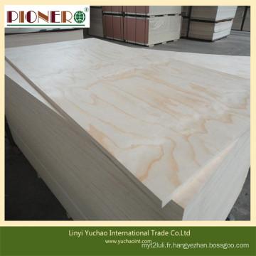 Contre-plaqué commercial de prix concurrentiel chaud de la Chine pour des meubles