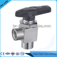 China best-selling SS high Pressure 1/2 ball valve