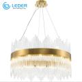 LEDER Beaded Crystal Beautiful Chandeliers