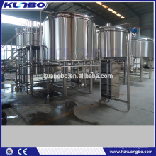 Acero inoxidable industrial 304 brewhouse del acero inoxidable para el pub