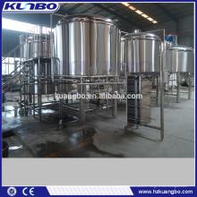 Machine de purée automatique / système de brassage de bière clé en main