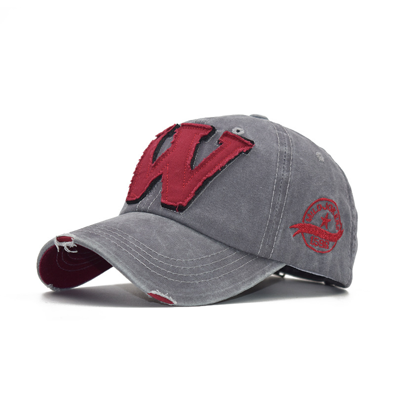 Men's and women's caps alphabet caps baseball caps (5)