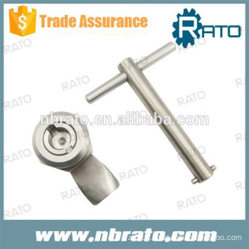 RC-134 polished key alike SS cam locks