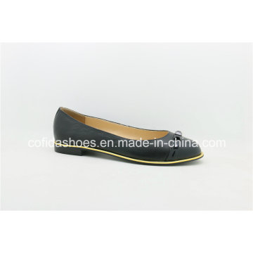 Comfortable Round Toe Lady Ballet Shoes with Chic Design