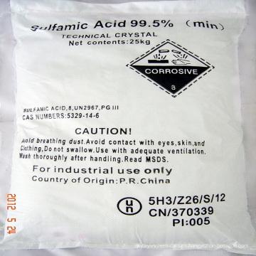 Ácido Sulfámico (Ácido Sulfámico) 99,5% y 99,8%