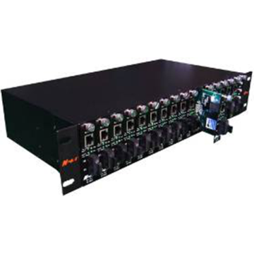 Chassis convertitore multimediale a 16 slot