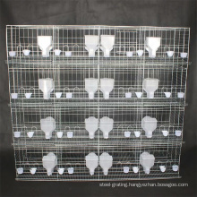 Galvanized welded mesh pigeons cage