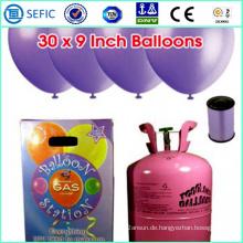 Niedriger Preis Heißer Verkauf Einweg Helium Gasflasche (GFP-13)