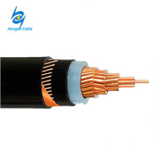 Cable de armadura de conductor individual XLPE 630mm de cobre de 3.6 / 6KV