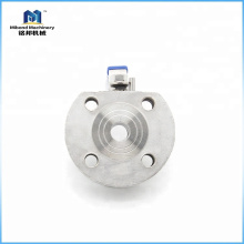 Factory Selling Directly stainless steel wafer flanged ball valve