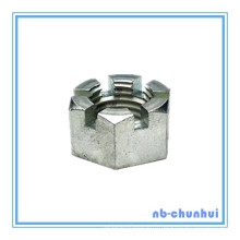 Hex Nut Hexagon Slotted Nut-2-1 / 2 ~ 3 ""