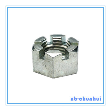 """Hex Nut Hexagon Slotted Nut-2-1/2~3"""""""