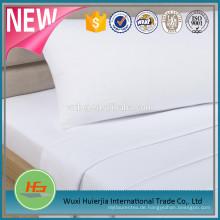 T180 gebleichtes weißes einfaches Bett-Blatt für Hotel und Krankenhaus-Gebrauch