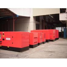 Generador diesel insonoro trifásico de la CA de la energía de cuatro motores AC de Guangzhou de los 750kVA Yto Engine
