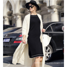 Women′s Cashmere Cardigan Sweater (13brdw133-1)