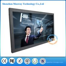 Monitor LCD tela sensível ao toque de 15 polegadas com porta USB DVI VGA HDMI