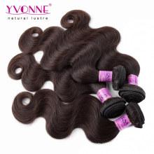 Top Grade Couleur # 2 tissage de cheveux humains péruviens