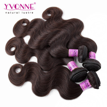 Top Grade Color #2 Peruvian Human Hair Weave