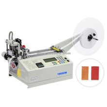 Automatic Hot Knife Poliéster Web Cutting Machine