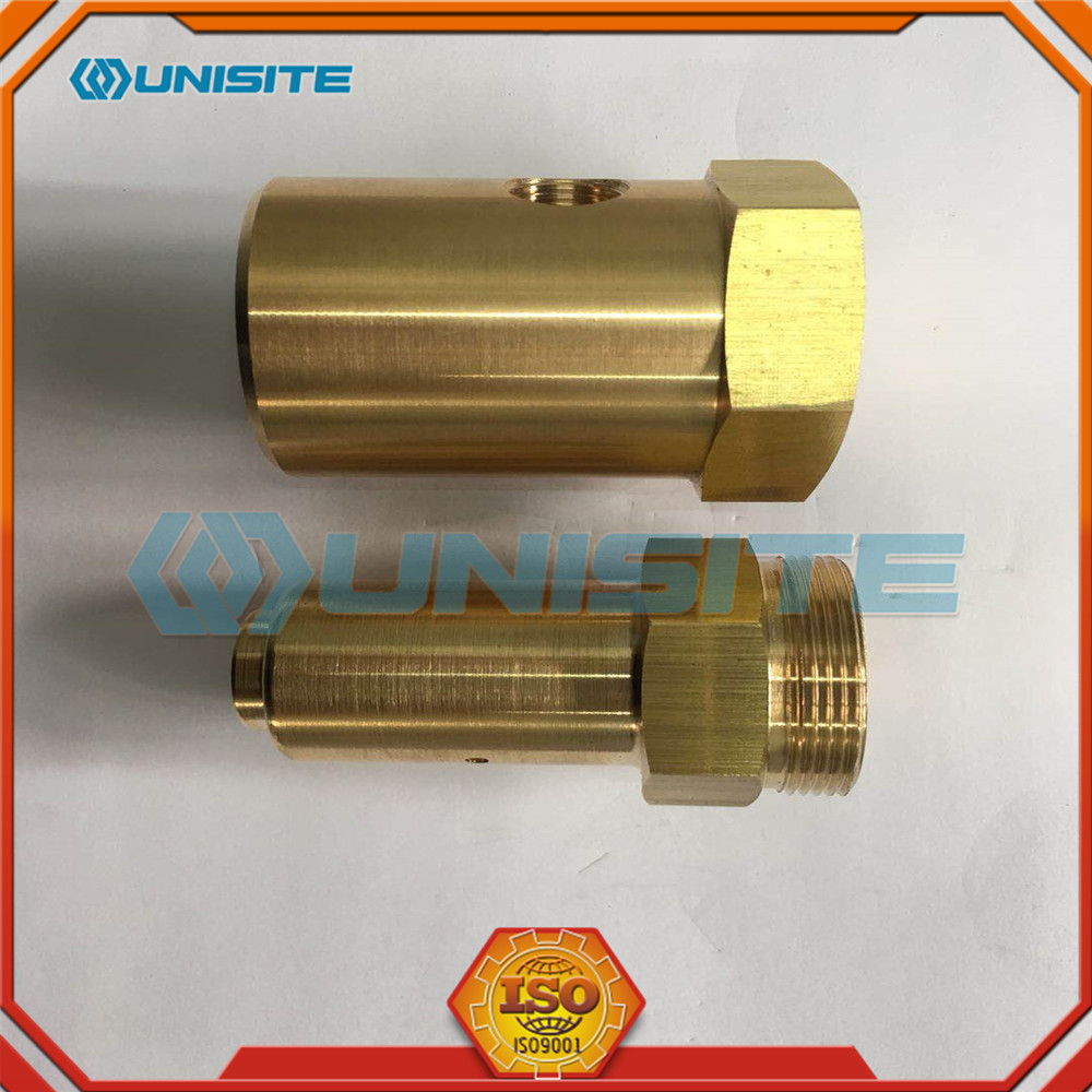Precision machined pilot valve