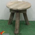 Mini table basse rustique en bois massif