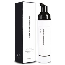 Custom Face Wash Facial Cleanser Clear White Mousse Milk Organic Face Color Cleaner Cleanser