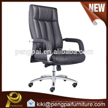 Executive modern wholesale PU leather office chair with wheels