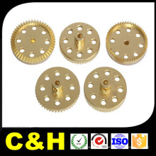 CNC usinagem peças de latão para equipamentos alimentares