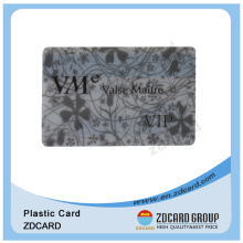 Transparent Clear Frosted PVC or PP Membership VIP Card