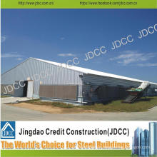 Galvanized Light Steel Structure Farm Henhouse