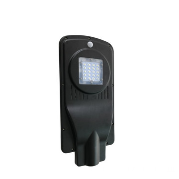 Luz de calle LED solar integrada de 20W