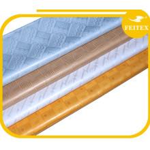 4 colores Guinea Brocade 100% tela de bordado de algodón Bazin Riche ropa africana de vestir para fiesta de boda FEITEX
