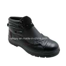Professional Protect Instep Part Safety Shoes for Welders (HQ06003)