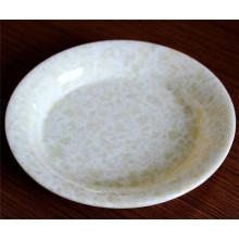 High Quality Marble Grain Melamine Dinnerware Plate Dish (CP-023)