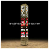 Customized outdoor weatherproof free-standing logo tower, sign board, signage, pylon by Shanghai manufacturer