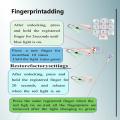 Hot Sales Fingerprint Padlock for Door Luggage Bag
