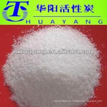 Cristaux polymères absorbant l'eau PAM Polyacrylamide