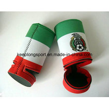 Fashionable Neoprene Can Cooler with Zipper, Can Cooler