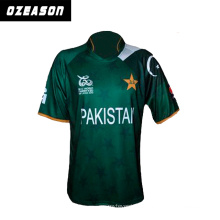 Ozeason 3D Sublimatin Promotion New Design Cricket Jerseys