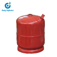 Argentina Portable 2kg Empty Camping LPG Gas Cylinder for House Cooking