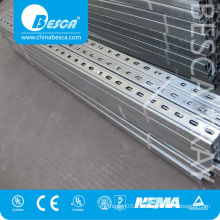 Steel c channel unistrut perfiles manufacturers