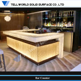 Artificial Marble Luxury High End Bar Counter (TW-PATB-013)