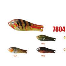 Alta qualidade 8g iscas de colher de pesca