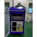 Máquina de solda a laser com chaleira elétrica