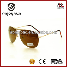 practical men metal sunglasses with UV400