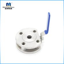 Válvula de bola con orificio completo de acero inoxidable de grado alimenticio de proveedor confiable