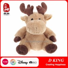 Christmas Toys Gifts Soft Stuffed Elk Toy as Presents
